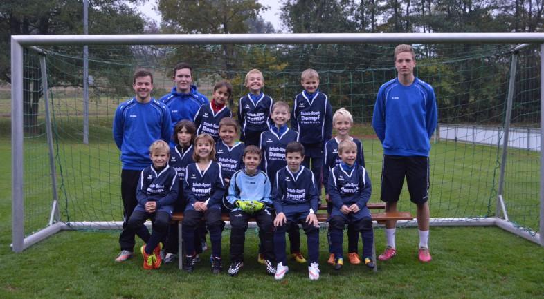 F-Jugend Mannschaftsbild